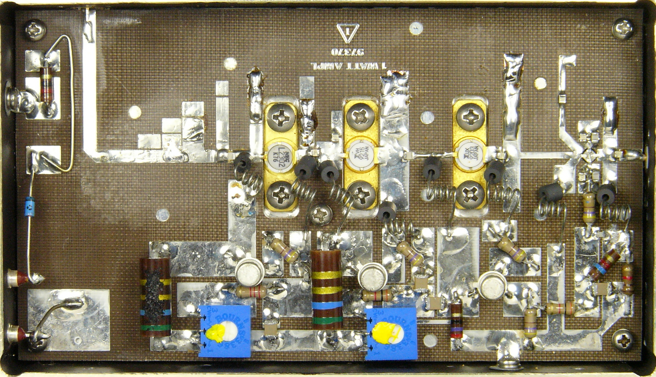 Projet 2304 MHz, Power Amplifier (1 Watt)